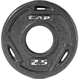 Cap Barbell Free Weights Olympic Grip Plate
