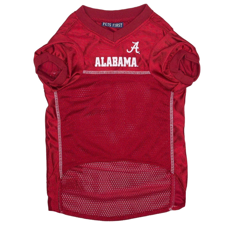 Alabama Crimson Tide Pet Jersey (XX-Large) Pets First