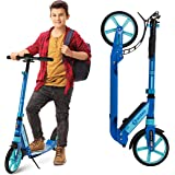 Scooter for Kids Ages 6-12 - Scooters for Teens 12 Years and Up - Adult Scooter with Anti-Shock Suspension - Scooter for Kids