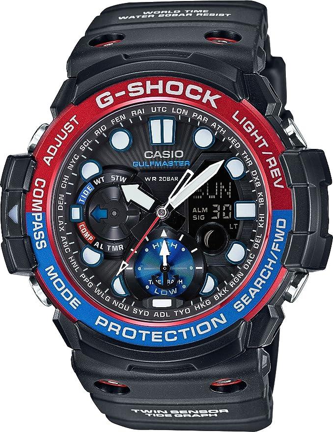 Watch Casio G Shock Gulfmaster GN 1000 1AER: : Montres  GuEHB