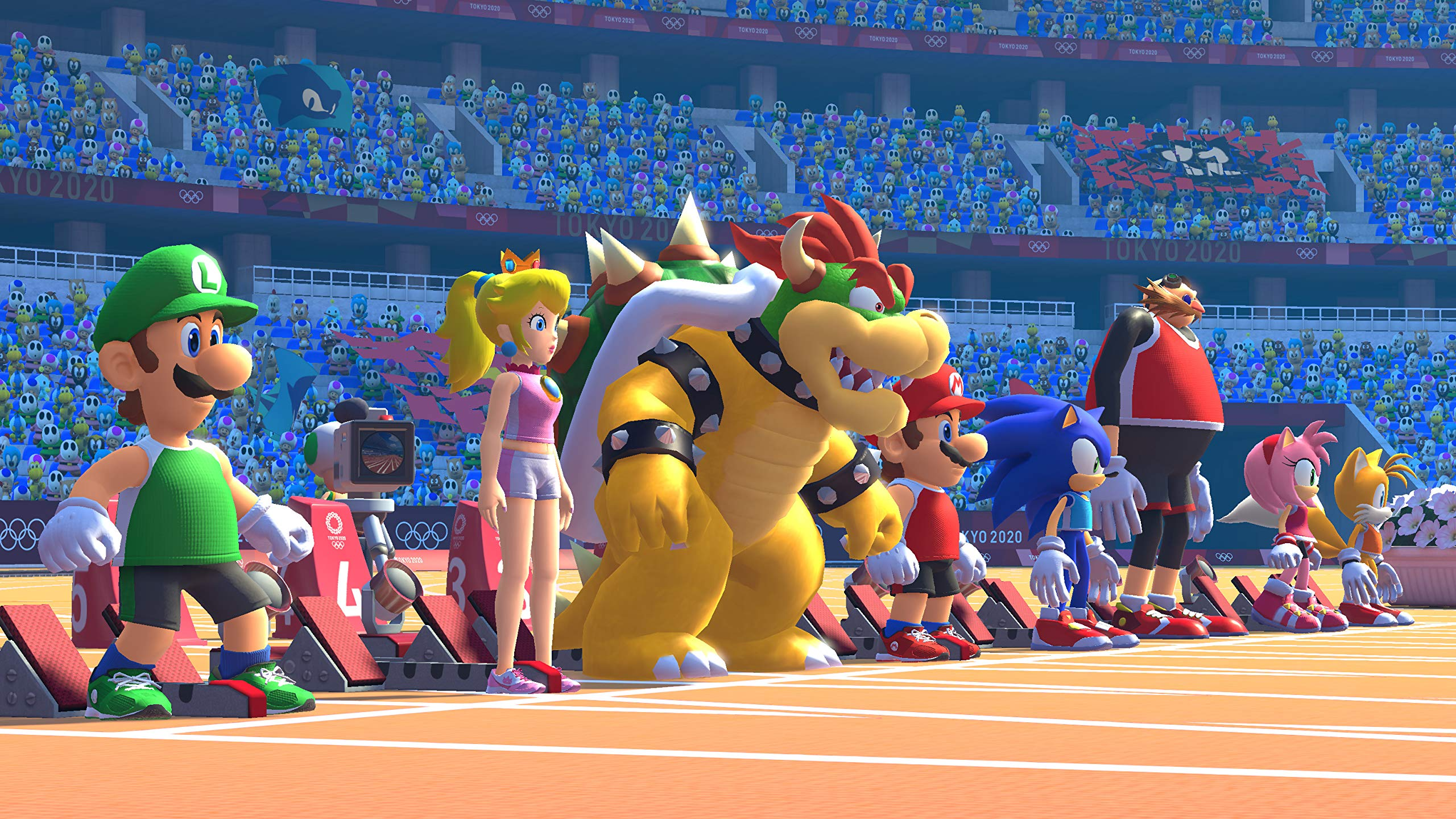Mario And Sonic At The Olympic Games 2020.Amazon Com Mario Sonic At The Olympic Games Tokyo 2020