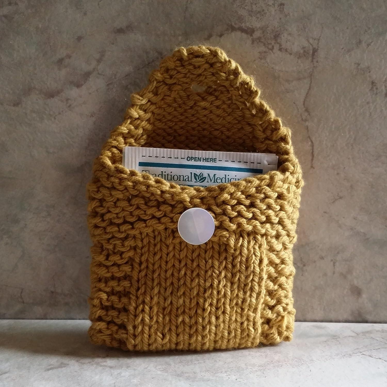 Dijon Mustard colored Tea Bag Holder