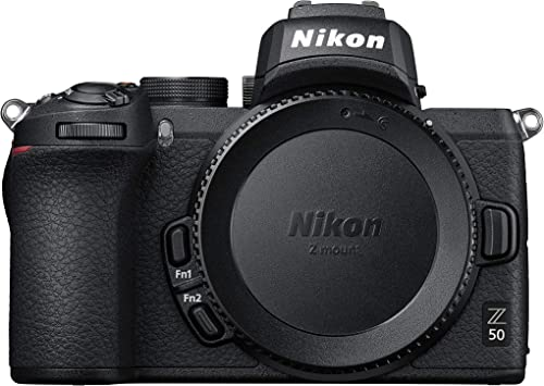 Nikon Z 50 DX-Format Mirrorless Camera Body, Black