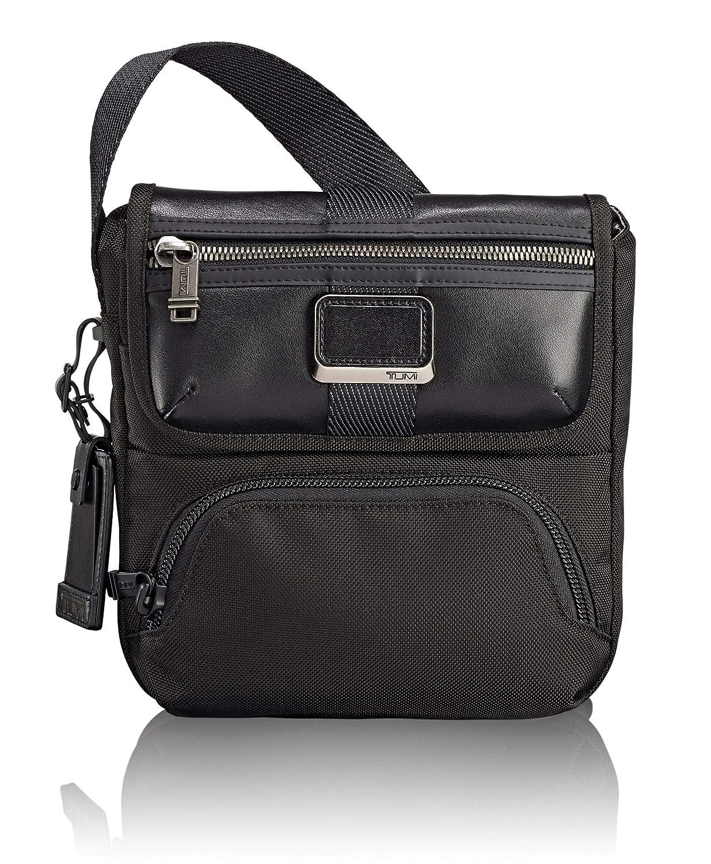 cf012a523f3 Amazon.com  TUMI - Alpha Bravo Barton Crossbody Bag - Satchel for Men and  Women - Black  iServe