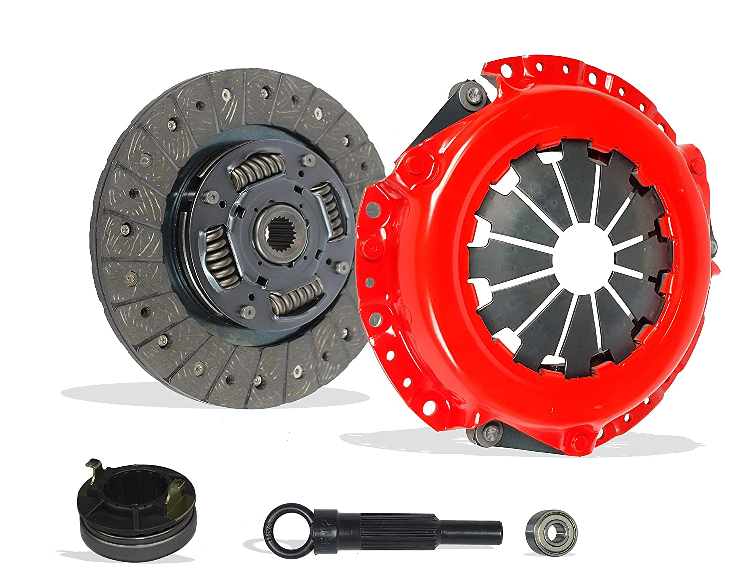 Amazon.com: Clutch Kit Set Works With Hyundai Accent Kia Rio Base Lx Sx Gls Gs Se Hatchback Sedan 2006-2011 1.6L l4 GAS DOHC Naturally Aspirated (Stage 1): ...