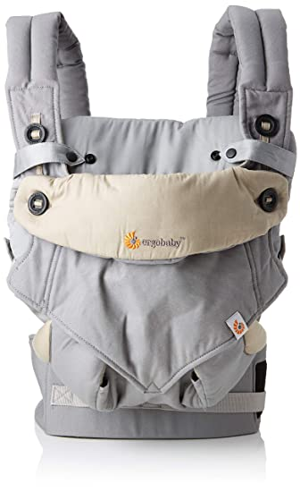 af3bfb0e3a3 Amazon.com   Ergobaby Bundle - 2 Items  Grey All Carry Position Award  Winning 360 Baby Carrier and Easy Snug Infant Insert