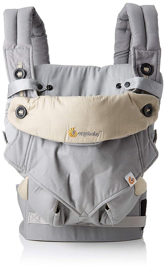 Ergobaby BCII360AGRYV3 - Portabebés, gris: Amazon.es: Bebé