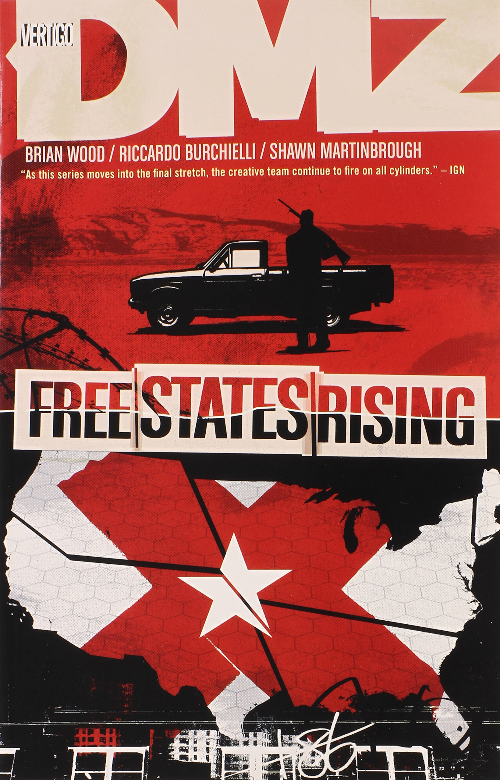 DMZ Vol. 11: Free States Rising ebook