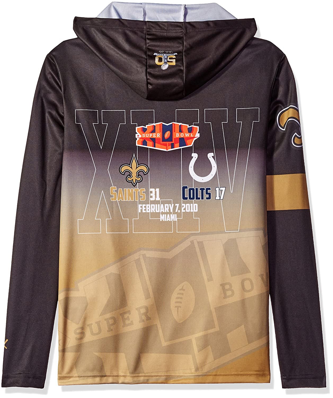 2508ae5e1 Amazon.com   NFL New Orleans Saints Super Bowl XLIV Champions Hoody ...