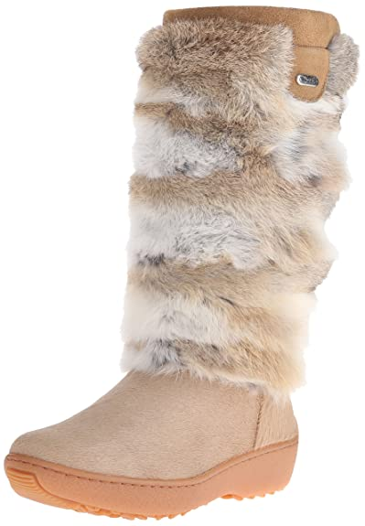 Pajar Women's Foxy All-Weather Boots,Beige Cow/Spot Rabbit,40 M EU / 9-9.5 B(M)