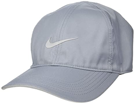 2c7987ae54fbf7 Image Unavailable. Image not available for. Color: Nike Featherlight Hat - Cool  Grey