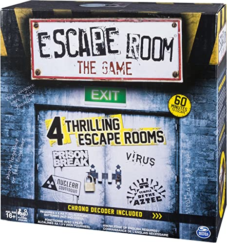 Escape Room Board Game: Amazon.es: Juguetes y juegos