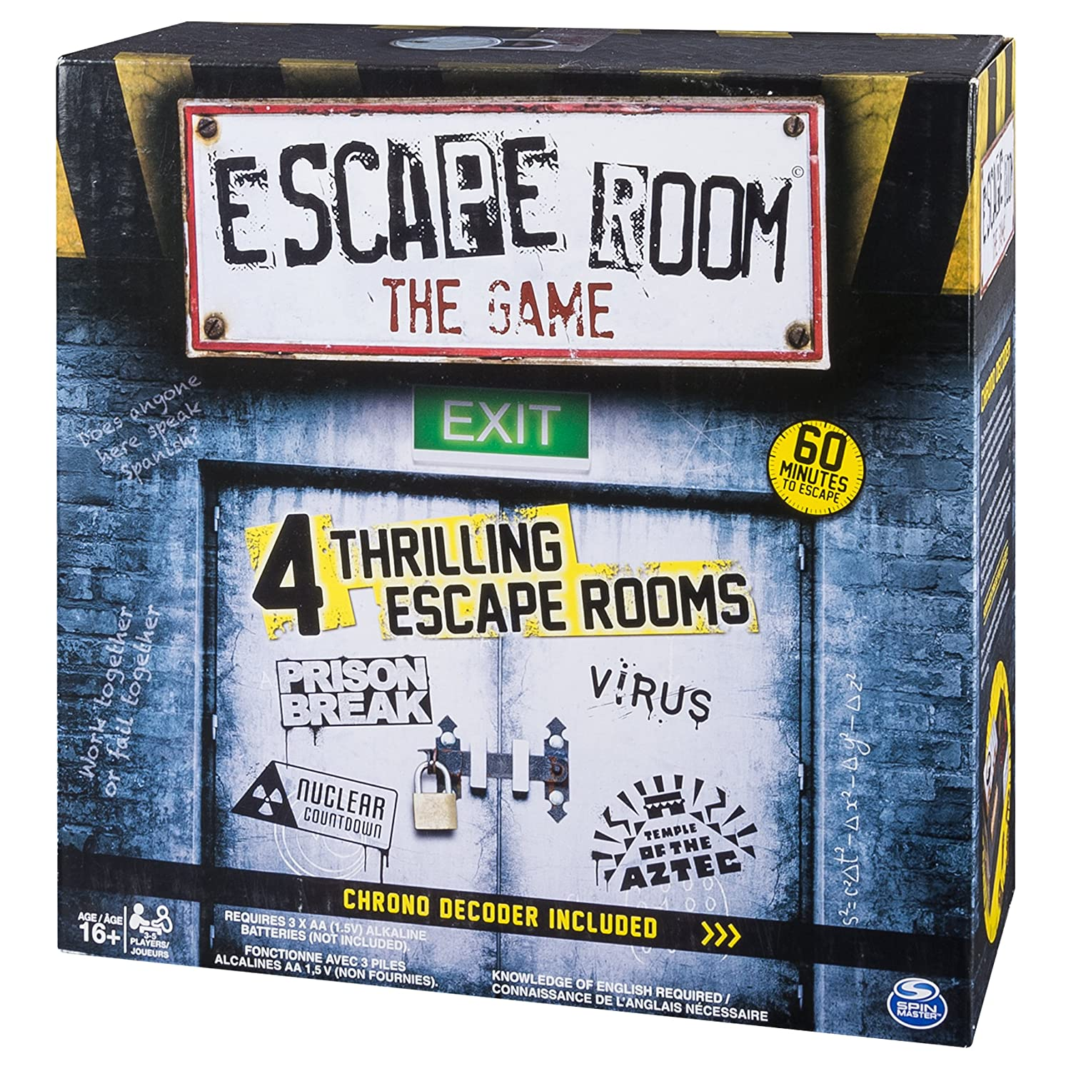 Spin Master Games Escape Room The Game: Amazon.co.uk: Toys & Games