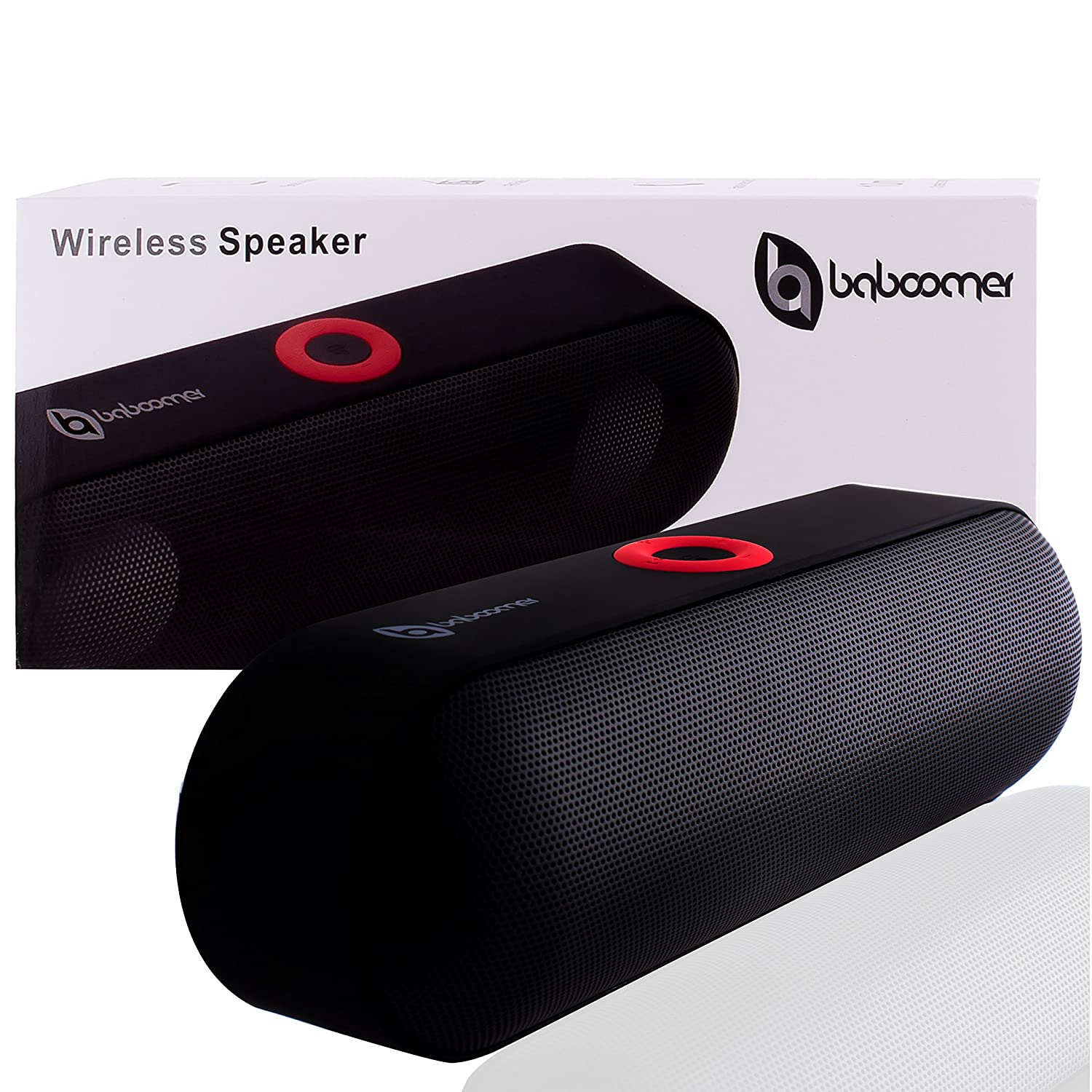 Portable Bluetooth Speaker Crystal Clear Stereo Sound 24Hour Playtime Easy Wireless Stereo Pairing