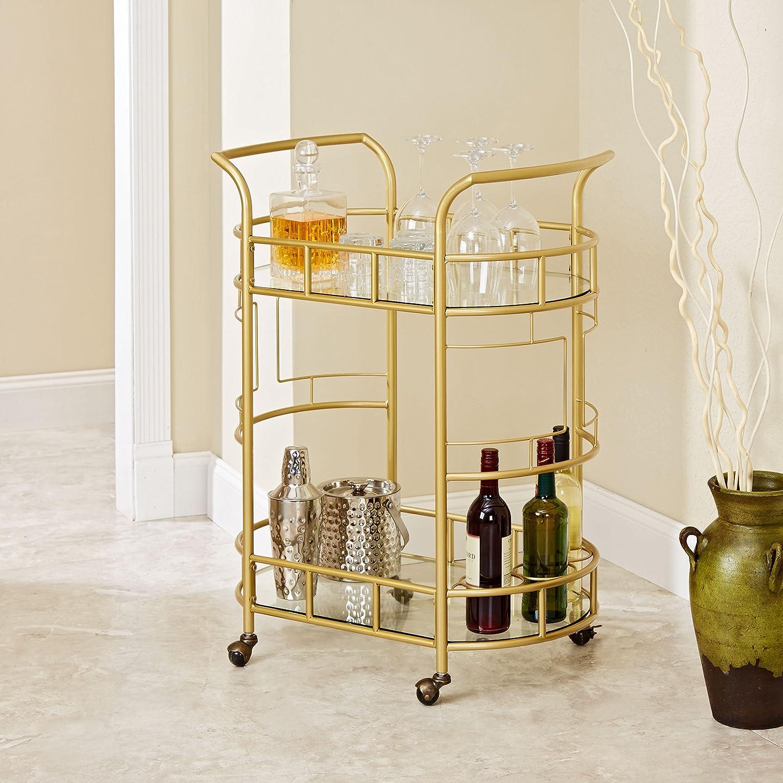 Glass & Mirrored Bar Carts