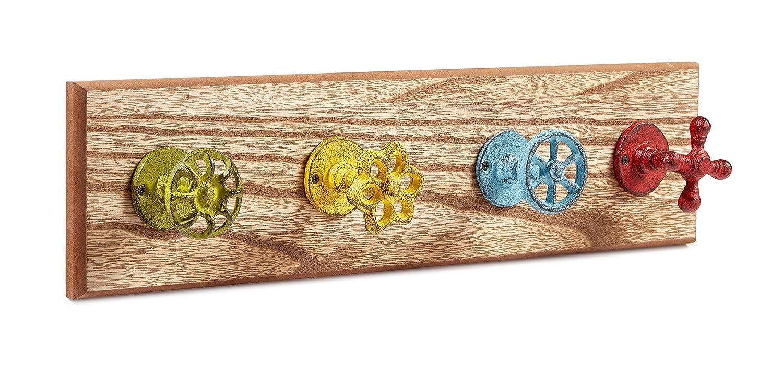 7Hx4.25W Blue Dots Leash Holder or Key Hook Carolines Treasures CJ1013-OSH4 Letter O Initial Monogram Multicolor