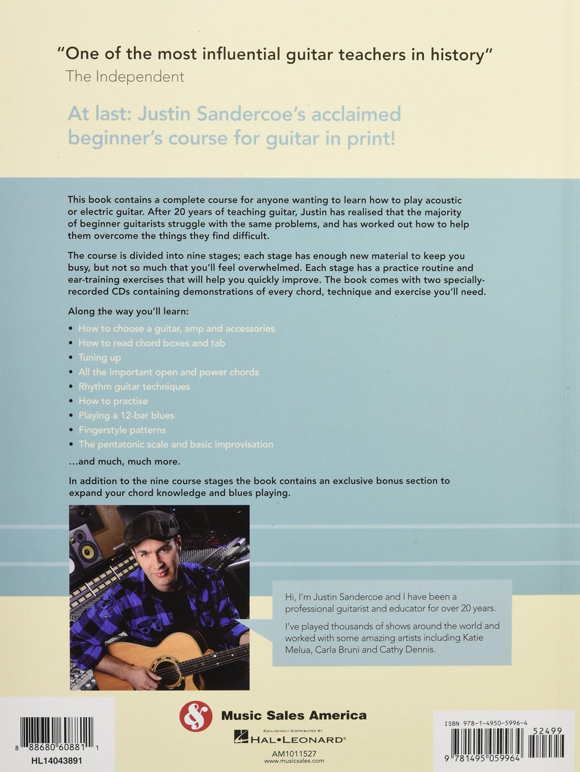 Amazon Justinguitar Beginners Course 0888680608811 Justin