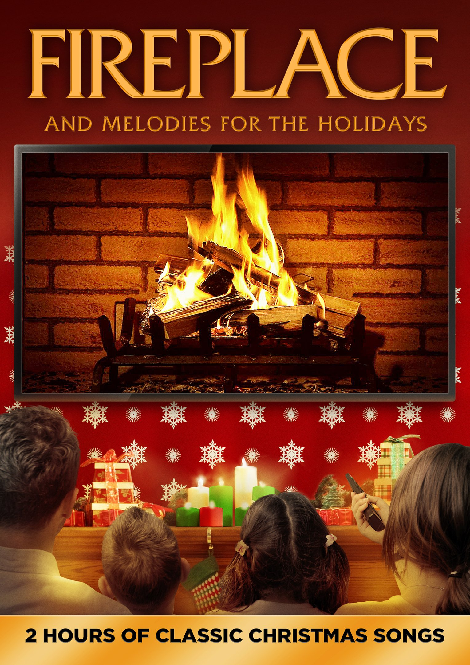 Fireplace and Melodies for the Holidays (Widescreen, Dolby, AC-3)
