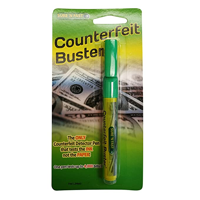 Amazon.com: Counterfeit Buster Pen 3pk: Office Products