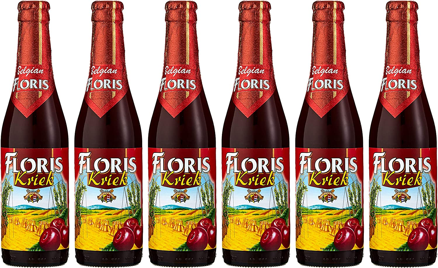 Floris Kriek Cherry Beer, 6 x 330 ml: Amazon.co.uk: Grocery