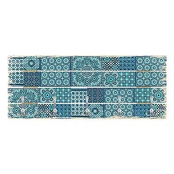 Bilderwelten Perchero de Madera - Moroccan Mosaic Tiles ...