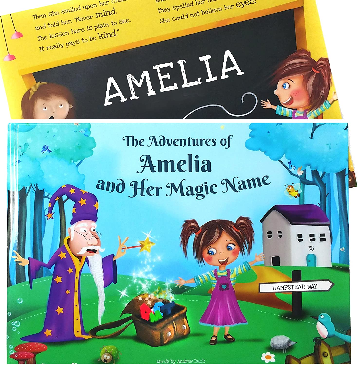 Personalised Childrens Story Books - HARD BACK Personalised Book ...