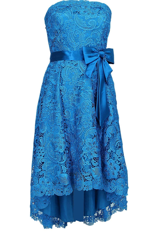 Vokuhila Damen Abendkleid Cocktailkleid Sarah mit Träger kaufen