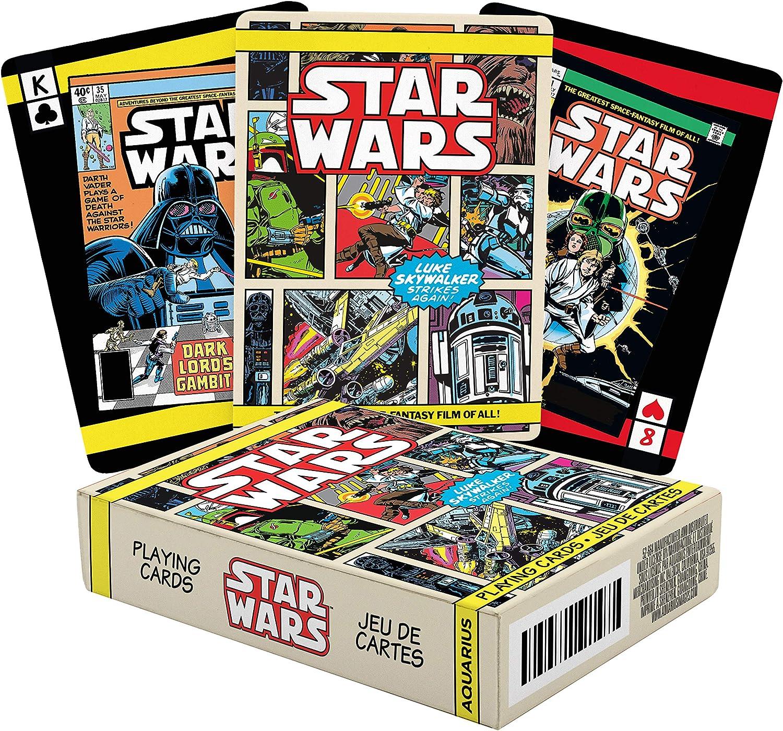 Aquarius Star Wars Heroes Playing Cards
