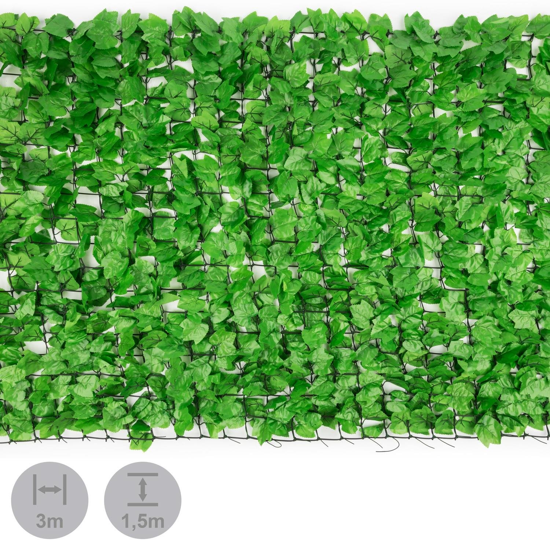 Blumfeldt Fency Bright Ivy • Sichtschutz • Windschutz • Lärmschutz