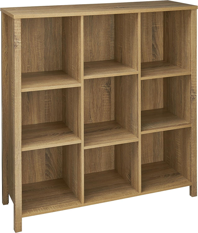 ClosetMaid 16056 Premium Adjustable 9-Cube Organizer, Weathered Oak