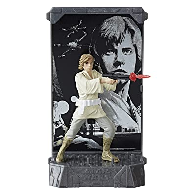 Star Wars The Black Series Titanium Series Luke Skywalker, 3.75-inch: Toys & Games