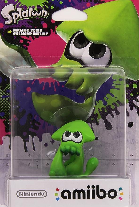 Nintendo - Figura Amiibo Splatoon Calamar: Amazon.es: Videojuegos