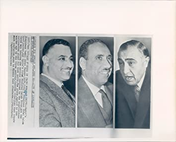 Amazon 1963年の写真 エジプト大統領ガメル アブデル・ナースター ...