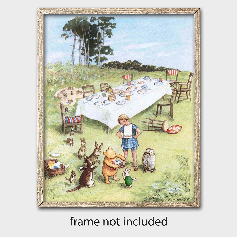 Amazon.com  Classic Winnie the Pooh Wall Art (Nursery Decor Boys ... 38e595498