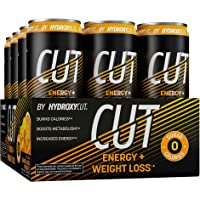 Energy Drink + Weight Loss | Hydroxycut Cut | Sparkling Energy Drinks + Weight Loss | Sugar Free, Zero Calories…