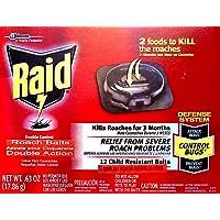 Raid Double Control Small Roach Baits, 12 Count