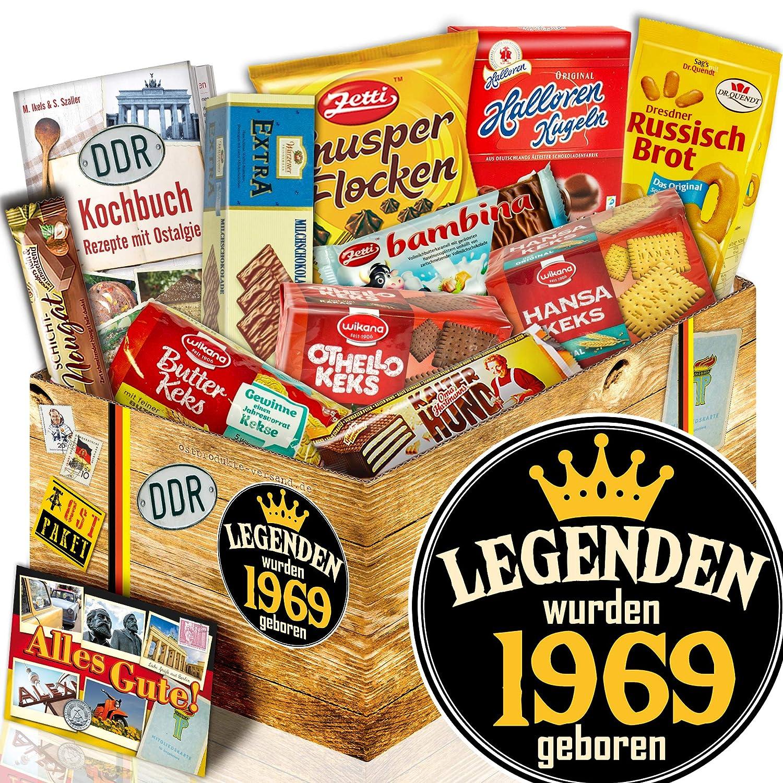 DDR Set Schokolade Geburtstag Legenden 1970 Pr/äsentkorb 50