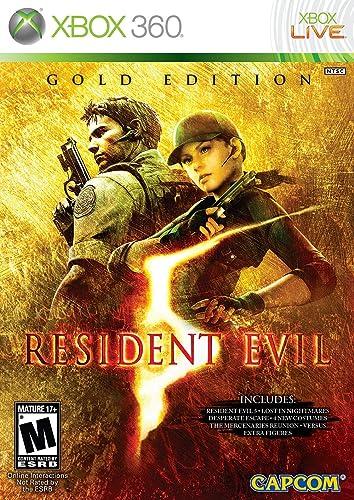 Capcom Resident Evil 5 Gold Xbox 360 Esp Juego Xbox 360 Esp