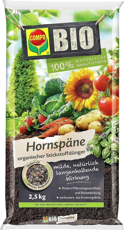 COMPO BIO Horn Chips, fertilizante nitrogenado de alta calidad y ...