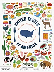 United Tastes of America: An Atlas of Food Facts & Recipes from Every State! (GB DOCUMENTAIRE)