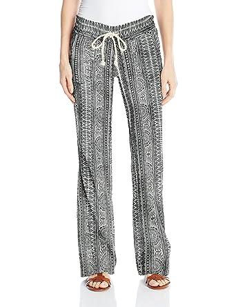 2654666566 Amazon.com: Roxy Women's Oceanside Printed Beach Pant: Clothing