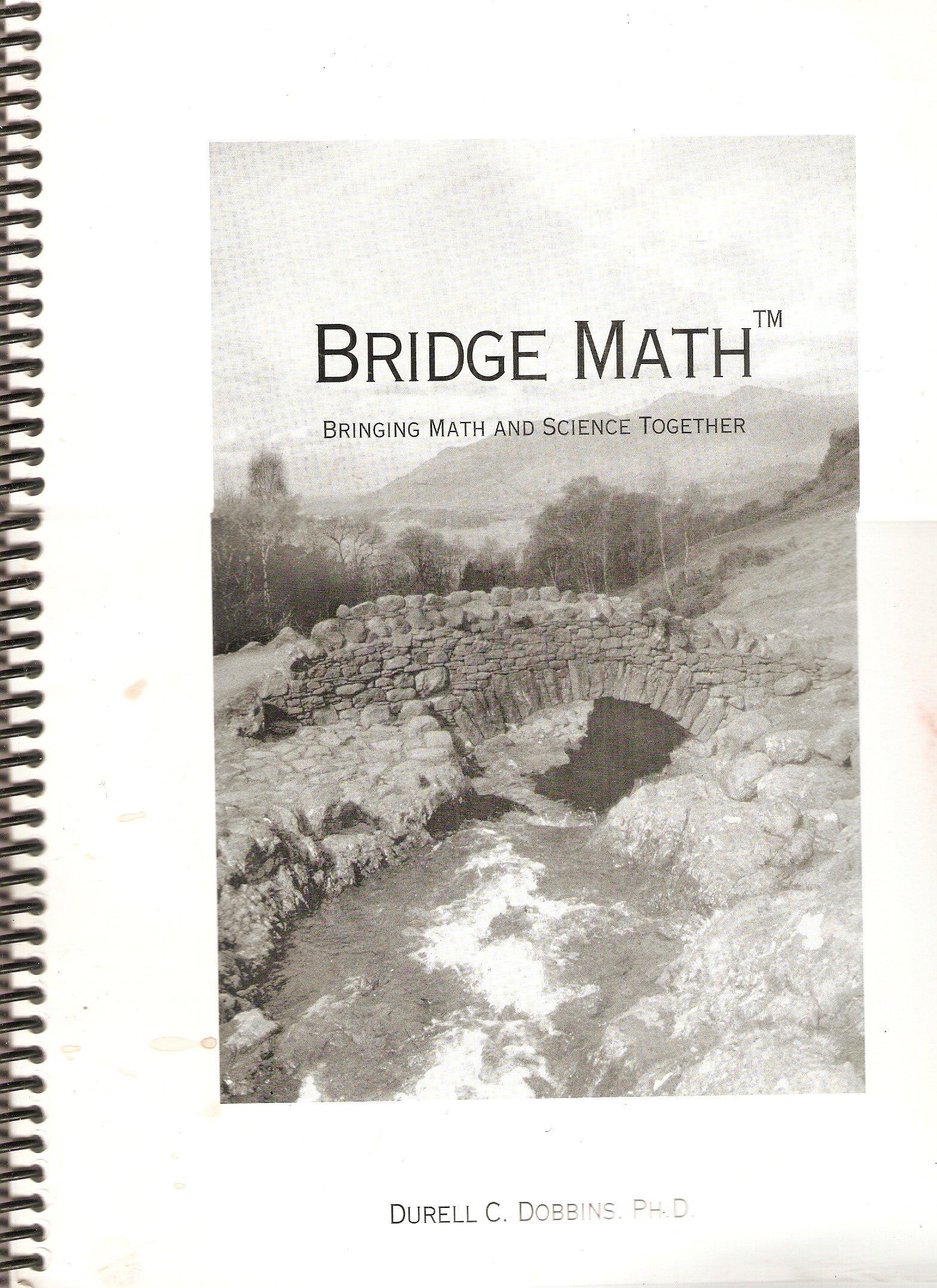 Bridge Math - Bringing Math & Science Together ebook