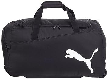 b9db3d550eca PUMA Sporttasche Pro Training Medium Wheel Bag black-White 63 x 34 x 13 cm