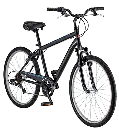db90abfda0b Amazon.com : Schwinn Men's Suburban Bike, 26-Inch, Black : Sports & Outdoors