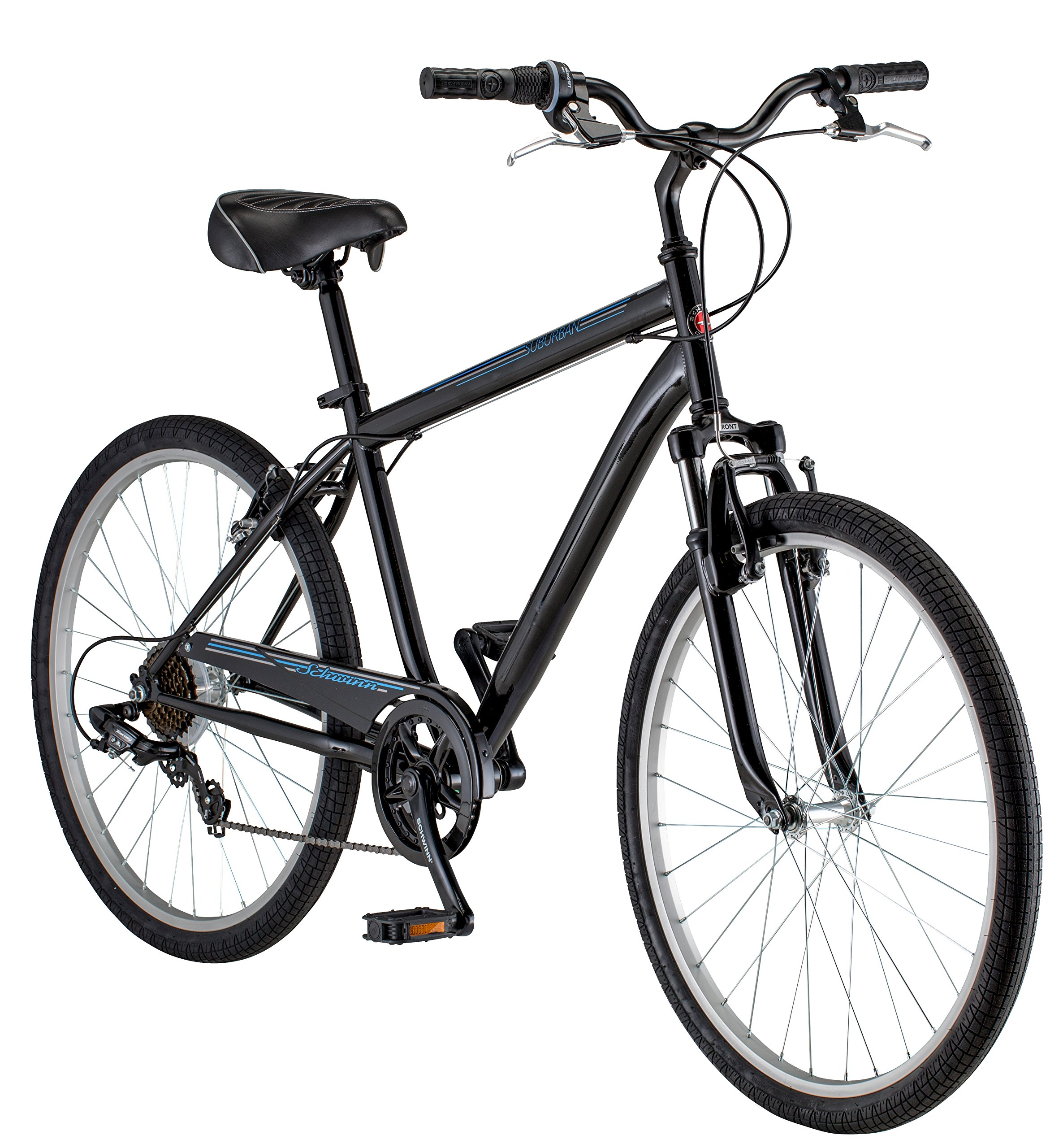 Schwinn Men's Suburban Bike, 26-Inch, Black