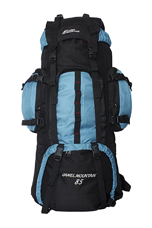 b0fc3a6513 Camel mountain 1022 85litre blue backpack: Amazon.in: Sports, Fitness &  Outdoors