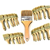 PANCLUB 28 Pack of 3 inch Paint and Chip Paint Brushes Bulk, for Paint, Gesso, Glues, Varnishes, Stains, and Acrylics