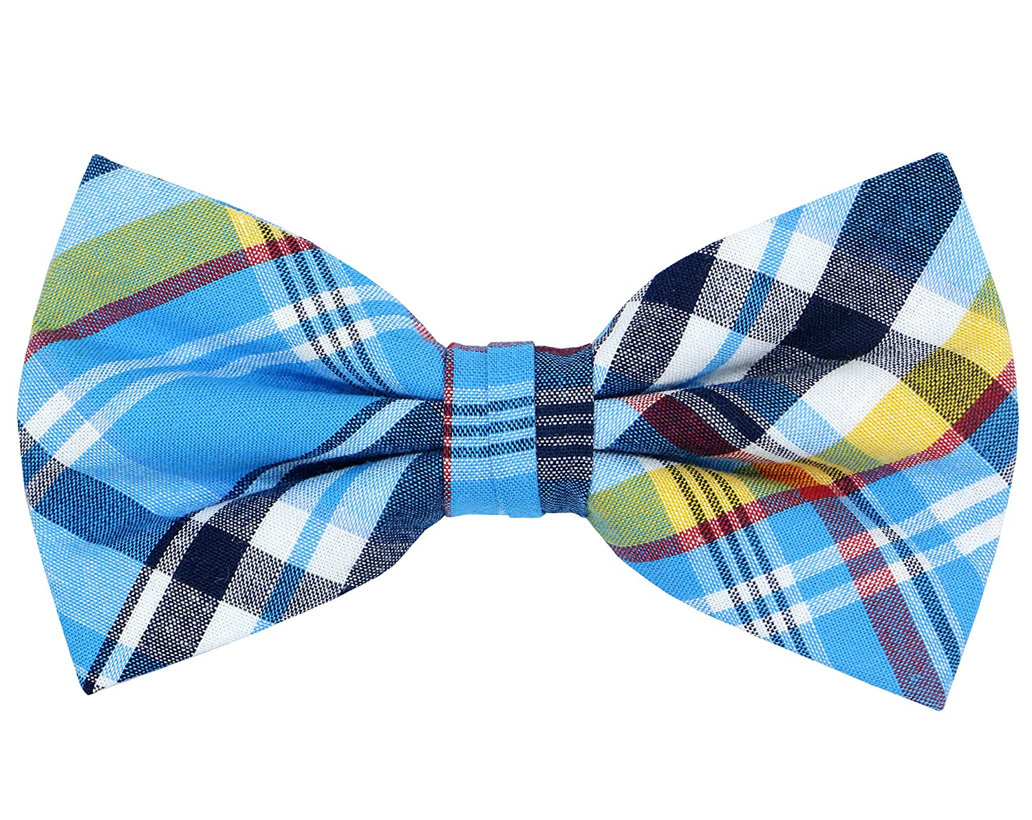 Men's Pre-Tied Bow Tie Adjustable Tuxedo Bowtie for Wedding Party, By OCIA OCIAM58