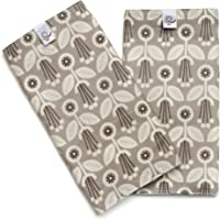 Little Goat Organic Cotton Teething Pads (Gray Art Deco)