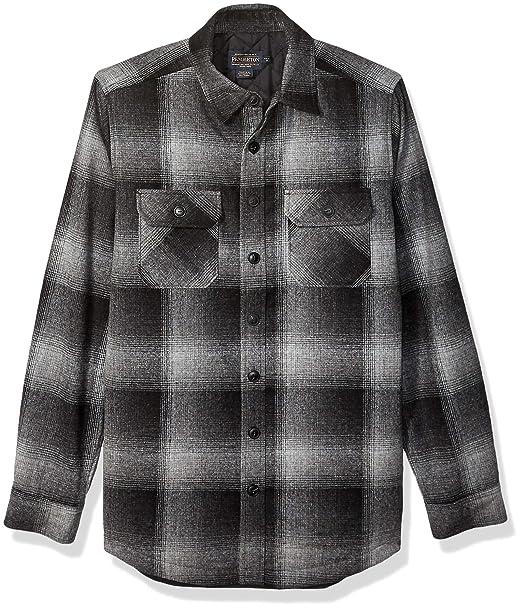 Amazon.com: Pendleton CPO - Chaqueta de lana acolchada para ...